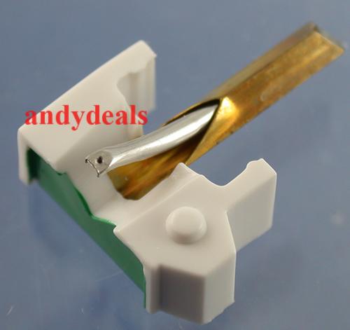 New Needle//Stylus for Shure M-44 M-55 M-80 Cartridge Shure N-44-7 759-D7 Japan